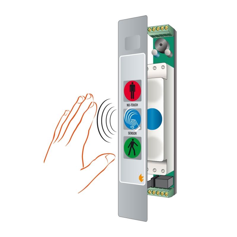 3 SLIM-DUALUX No-touch stop/go displays