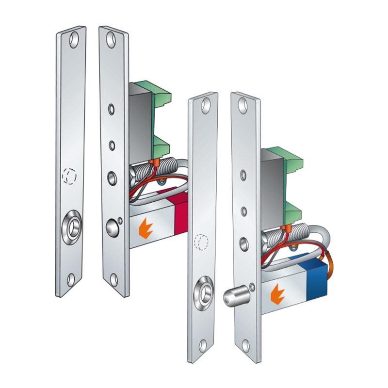 4 Electrical drop bolt Slim-Microlock