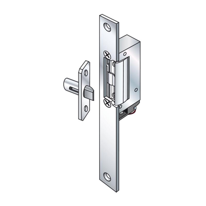 5 Electrical door strickes Slim-Doorstrike